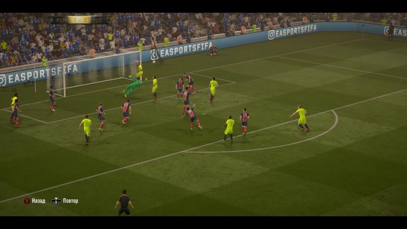 Голасо от Фернандо! FIFA 17