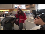 Nina Dobrev Gushes About Meryl Streep Speech, Keeps Vampire Diaries Return Secret At LAX