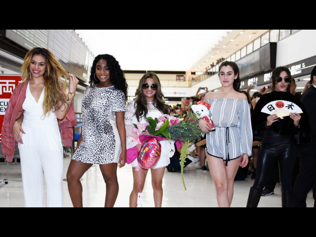 FIFTH HARMONY (5H) Arrives In JAPAN! フィフス・ハーモニー、成田空港で日本のファンの歓迎に2486