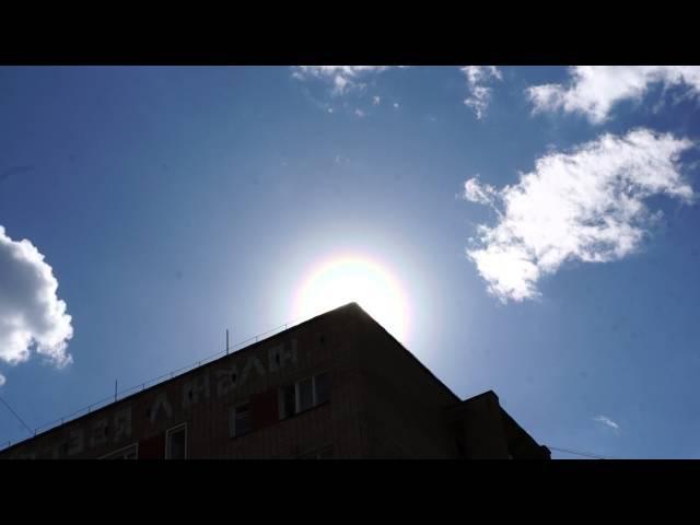 06 05 2016 Киров Вятка пыльцевая корона вокруг солнца