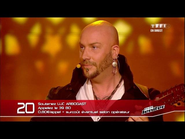 The Voice 2013 | Luc Arbogast - L'Adagio d'Albinoni (Remo Giazotto) | Prime 1
