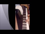 Burak Yeter feat Danelle Sandoval - Tuesday (piano cover, фортепиано, пианино,кавер)