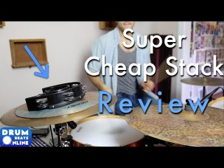 My Super Cheap Stack - Cymbal Review | Drum Beats Online