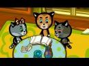 Песенки для детей - Три котёнка - Книжки - новые российские мультфильмы 2017 для детей и малышей