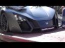 2015 Marussia B2 Russian Supercar | Loaded onto a Truck in Monaco