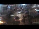 Краснодар ДТП на ул.1 Мая и ул.40 лет Победы 04.01.17