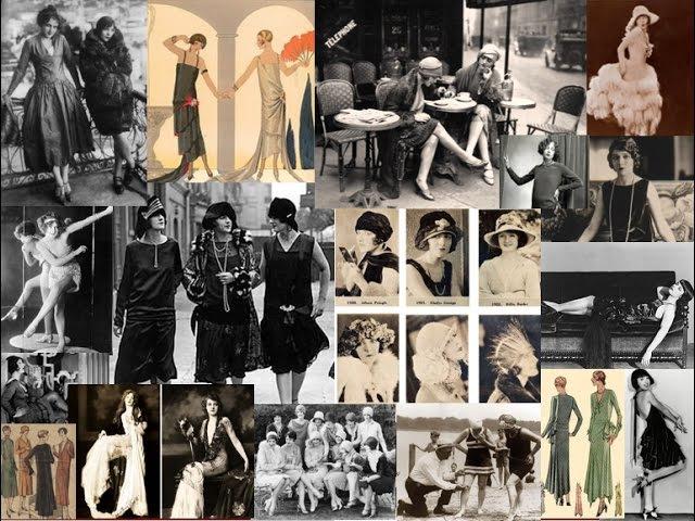История моды XX века. 1920-е. Женская мода.