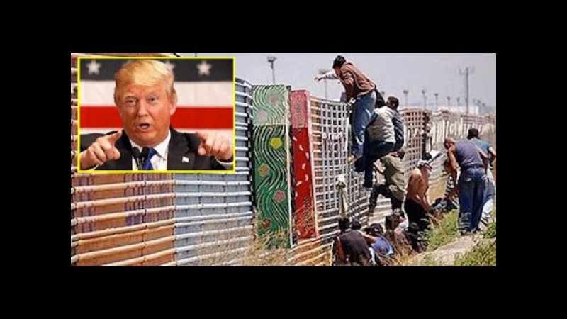 Donald Trump about building anti immigrant wall along Mexican border