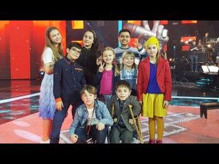 Ключ настарт: финалисты шоу «Голос.Дети-3» репетируют перед прямым эфиром. Специальный репортаж