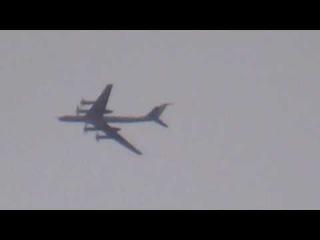 Российский противолодочный самолет Ту-142М3 над Сирией
