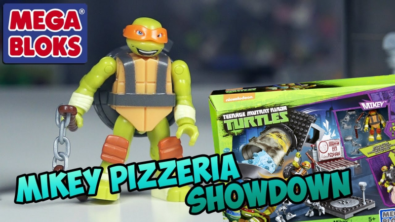 Mikey Pizzeria Showdown - Черепашки от Mega Bloks