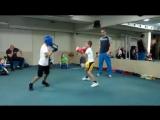Детский новогодний спортивный праздник бокса.