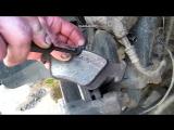 Видео замена передних тормозных колодок. BMW 3 E46