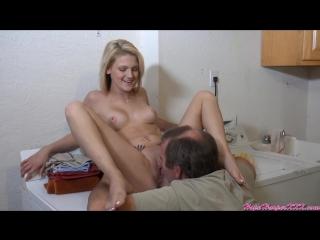 Секс отец лижет