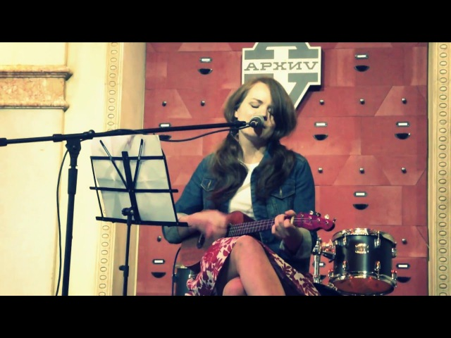 укулелемарафон Маша Мельникова - Karen O 'The Moon Song' cover
