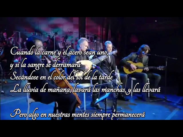 Fragile Sting YoYo Ma Chris Botti Dominic Miller HD Sub Castellano