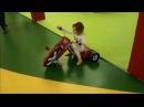 Детская развлекательная комната Jamp pakr/Большая розовая машинка каталка/ Little Tikie car toy