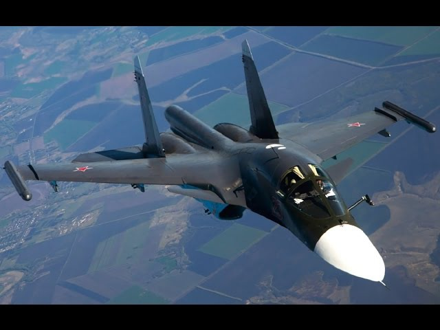 Russian SU-34 Graceful Destroyer on Steroids!Most Powerful Supersonic Bomber Fighter in the World!