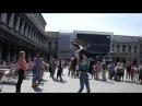 ФЛЕШМОБ РУССКИХ В ИТАЛИИ Челябинские студенты отжигают в Венеции 【PK Funny】