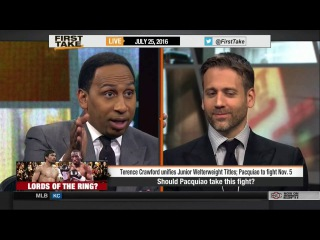 ESPN First Take: Пакьяо VS Кроуфорд l Manny Team