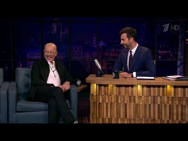 Вечерний Ургант - Александр Розенбаум . 678 выпуск от13.09.2016