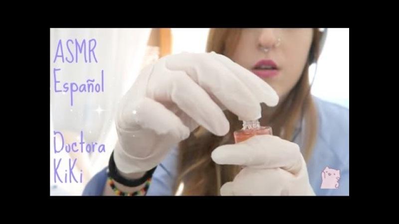 ◇ASMR DR KiKi Limpieza de oído◇Ear Cleaning Sacando piedritas de tus oídos ◇Binaural