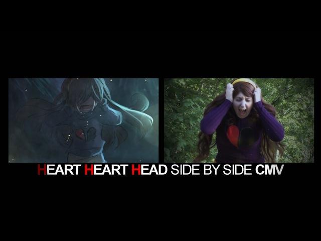 Heart Heart Head | Gravity Falls CMV (Side by Side with Original Comic by Rochichan)
