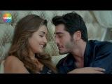 Aşk Laftan Anlamaz 12.Bölüm | Murat ve Hayat'ın çekimlerdeki yakınlaşması