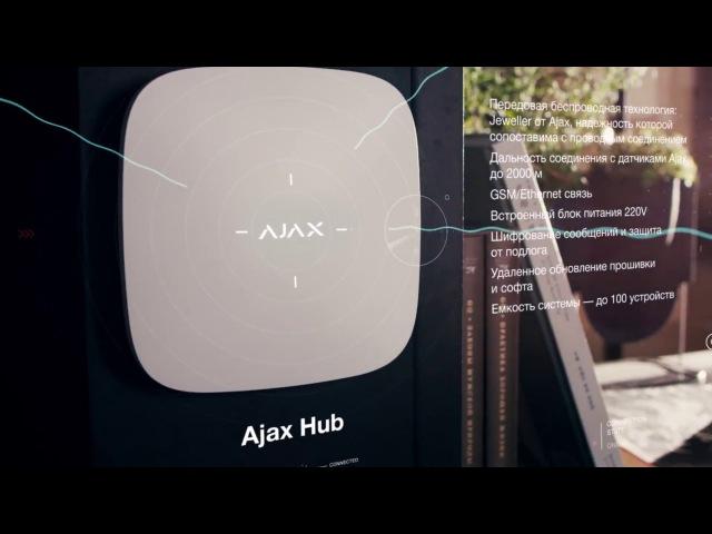 Ajax. Беспроводная система безопасности нового поколения