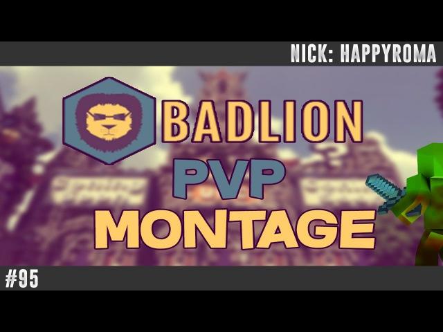 95 | MineCraft | MineCraft badlion | PVP MONTAGE NoDebuff