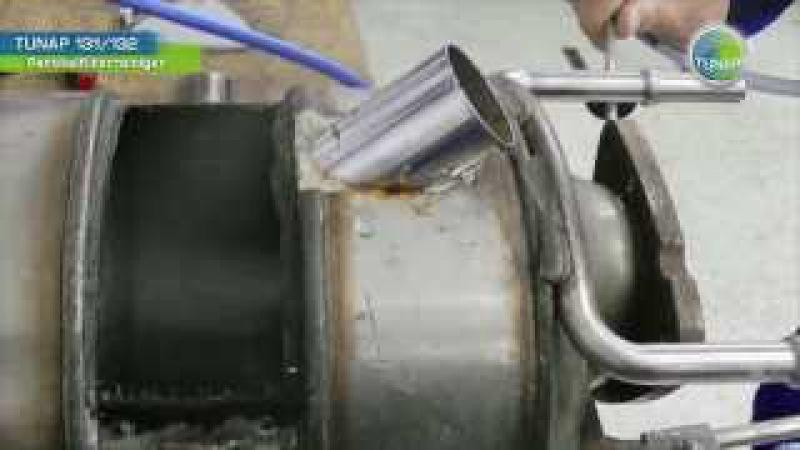 TUNAP 131 132 Dieselpartikelfilter Reiniger und Spülung - Anwendung