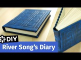 Doctor Who DIY River Song's Diary TARDIS Journal Sea Lemon