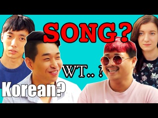 Korean try to compose a song for the first time : KG PROJECT2