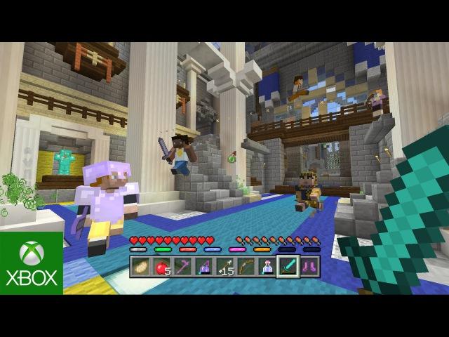 Minecraft Battle Mini game Map Pack 3 Trailer