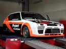 VAZ 2108 Turbo M-Sport Dyno -Test, турбо Восьмерка Дино -тест