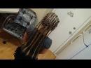 Африканские косички Брейды Coletas Simple Dreads Braids Tutorial