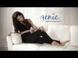 Genie™ Slim and Tone Leggings shape your waist, hips, thighs and calves.