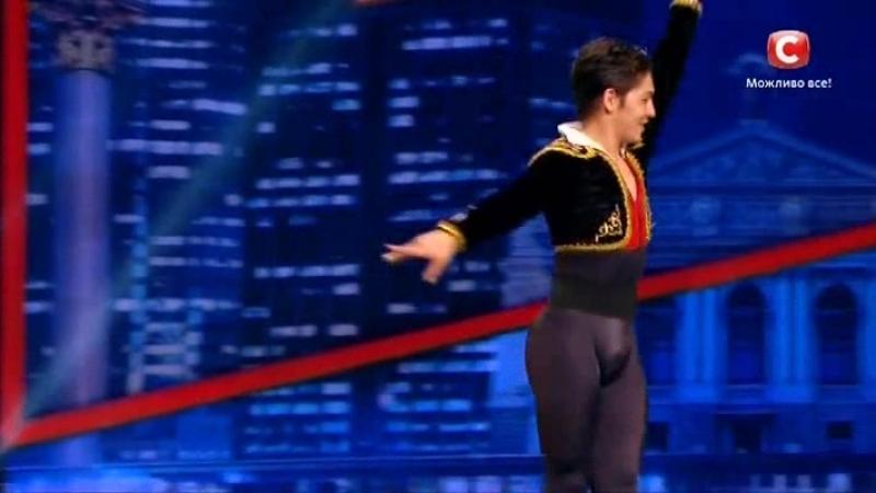 Танцюють всі 9 - кастінг - Бахтіяр