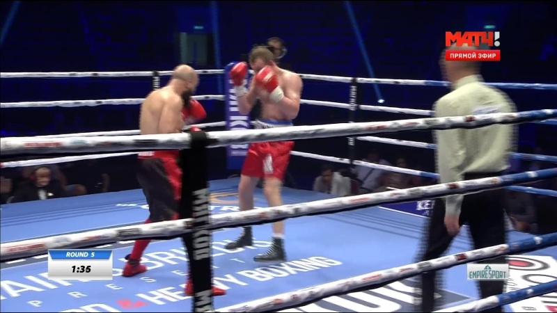 Sergei Ekimov vs Mustafa Chadlioui (31-07-2016)
