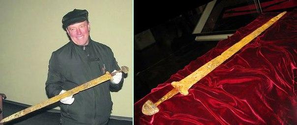 Найден меч Великого Князя Светослава Хоробре