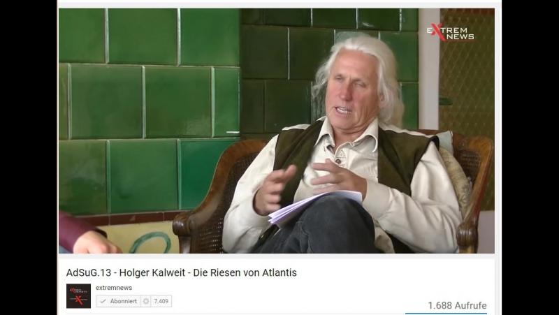Holger Kalweit - Flugscheiben sind Reichsdeutsche ,Mond, Mars...Dritte WK kommt...