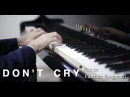 Guns N' Roses - Don't Cry piano cover play by Ear by Jazzy Fabbry Rock Ballad