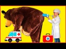 УКОЛ МАША И МЕДВЕДЬ Несварение желудка MASHA AND THE BEAR Гигантские конфеты Чупа Чупс G