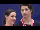 2016 NHK Ice Dance Victory Ceremony