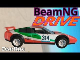 BeamNG Drive Crash Testing Stairway to hell Pit of Death DarRidi