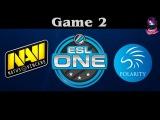 NaVi vs Polarity , Game 2 | ESL ONE Frankfurt (07.04.2016) Dota 2