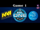 NaVi vs Polarity , Game 1 | ESL ONE Frankfurt (07.04.2016) Dota 2