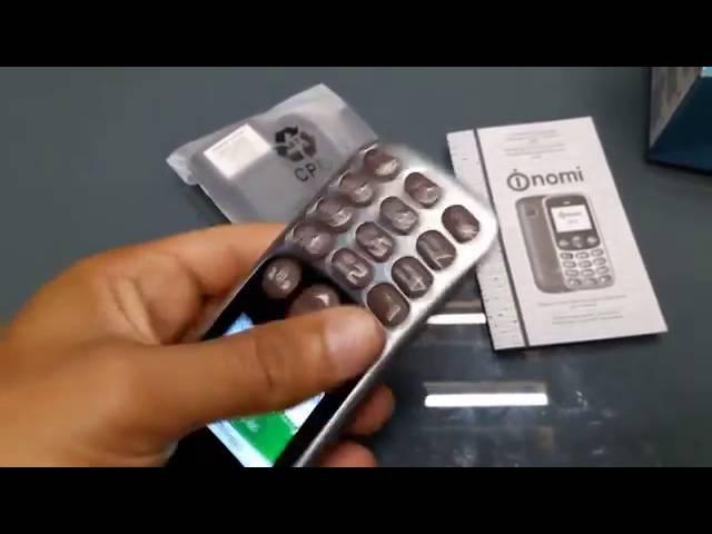 Бабушкофон Nomi I177 metal: телефон не только для бабушек