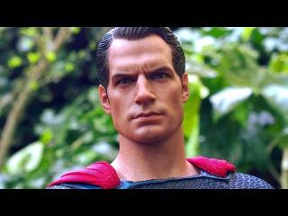 ОБЗОР action-фигурки:  SUPERMAN from HOT TOYS
