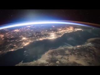 Как на Землю приходит Рассвет. Вид из космоса. Видео с Международной Космической Станции * МКС